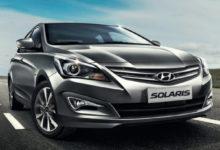 Запчасти Hyundai Solaris